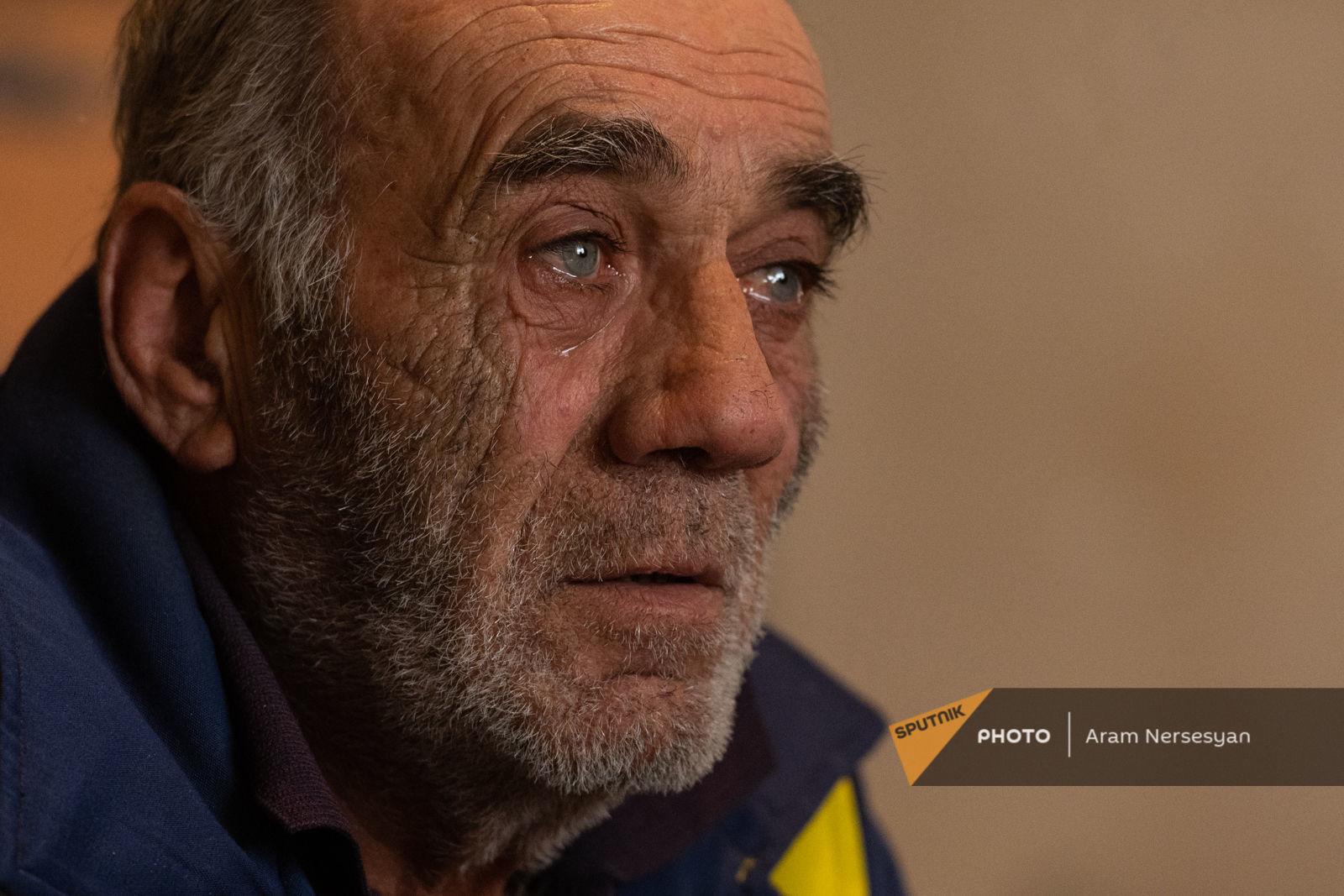 Naxçıvanın Kərki kəndindəki miskin durumlu 100 erməni guya buradan çıxmaq istəmir...-VİDEO